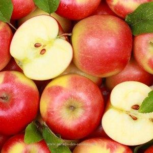 Masque visage aux pommes