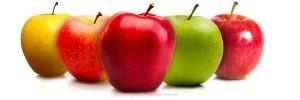 Pomme masque beauté