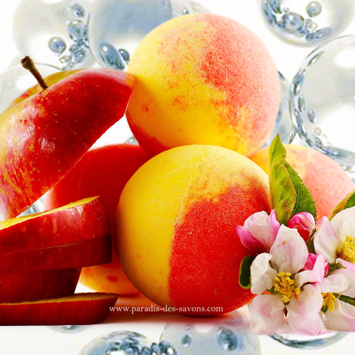 Boule de bain à la pomme