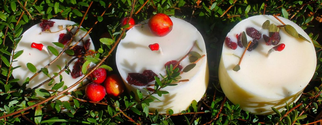 Bougies aux cramberries