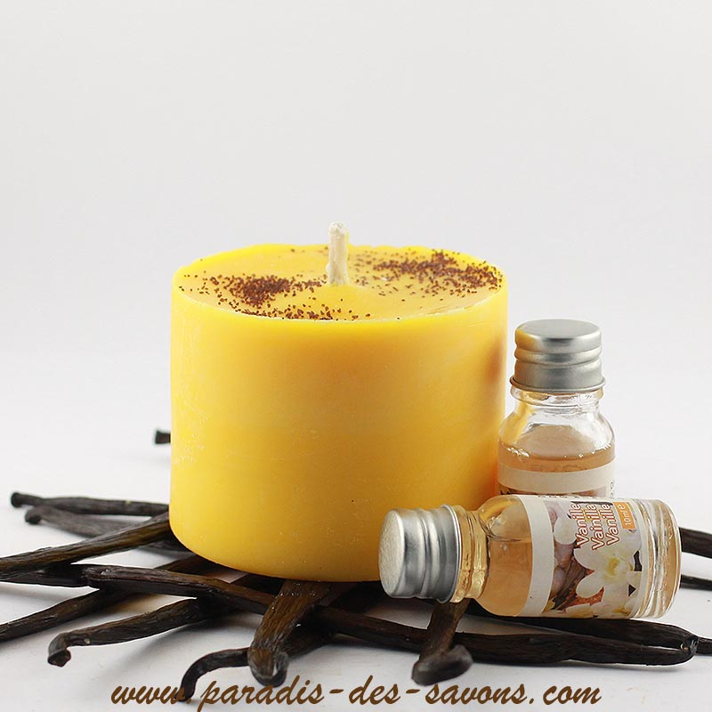 Bougie naturelle vanille