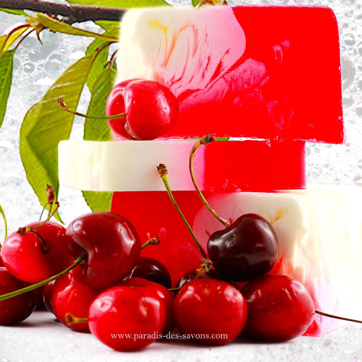 Savon à la cerise Cherry Amaretto