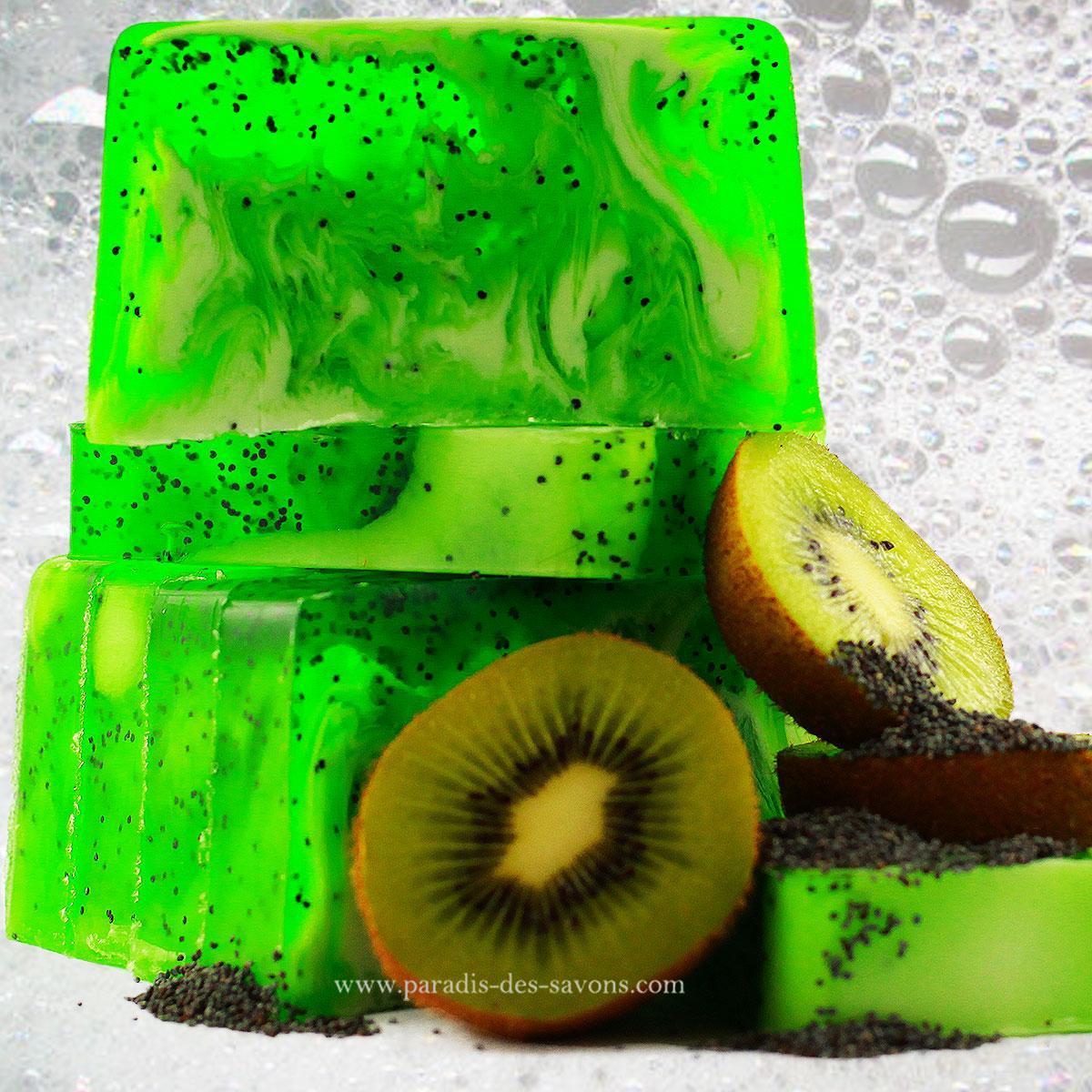 Savon au kiwi
