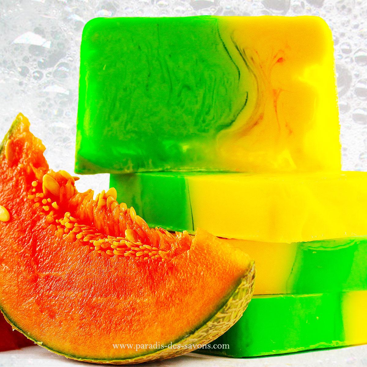 Savon melon
