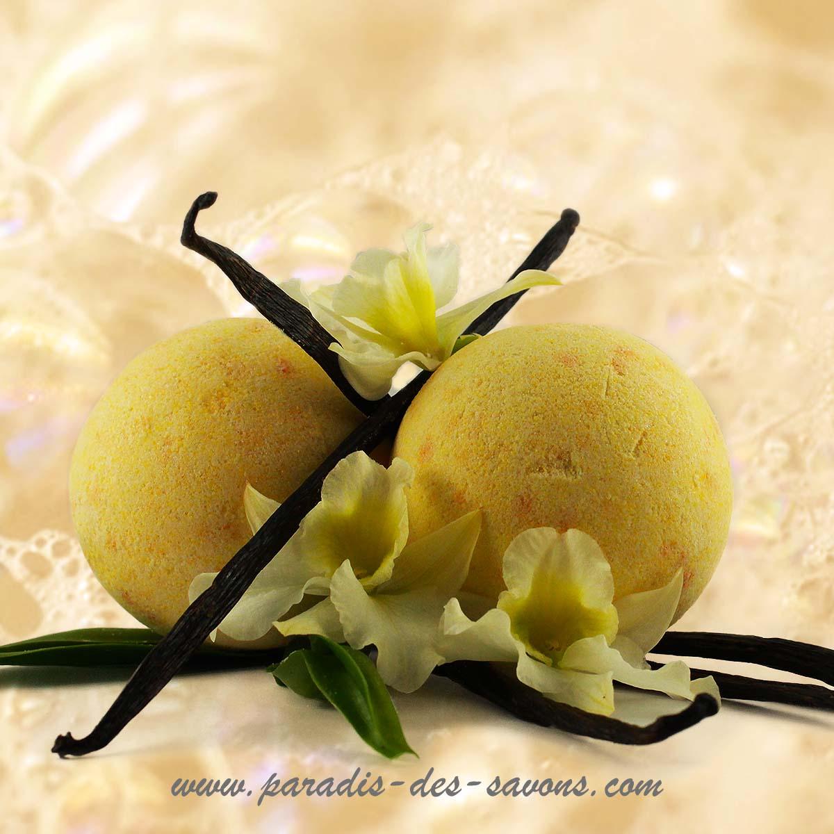 Bain gourmand à la vanille