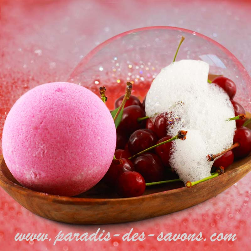 Bain gourmand Cerise