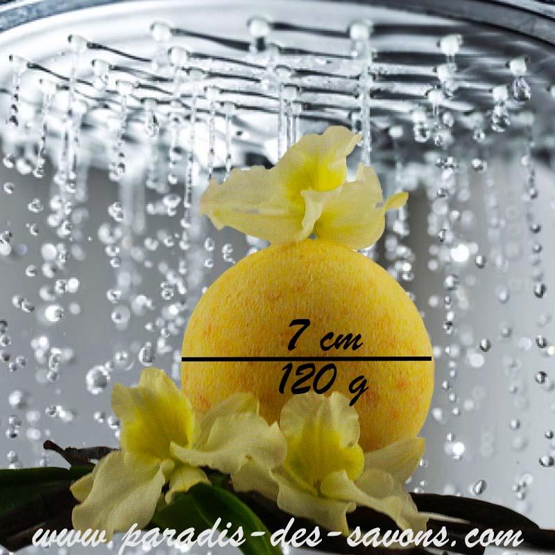 Boule de bain vanille
