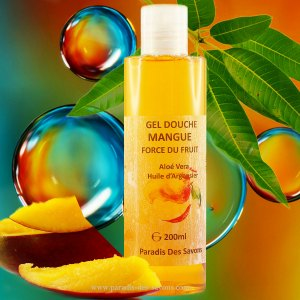 Gel douche surgras mangue