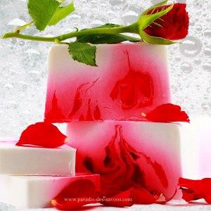 Savon rose Idée cadeau