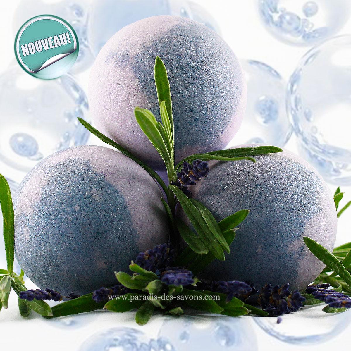 Bain lavande relaxant bleu de lavande p tillante for Bain relaxant maison