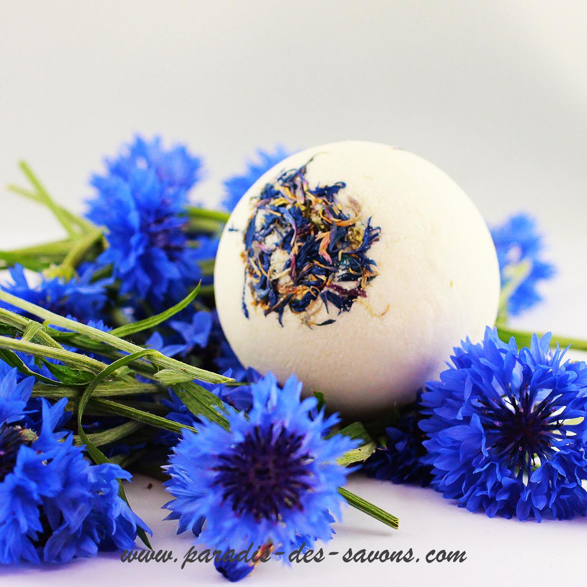 Bombe de bain Bleu de Bleuet