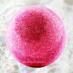 Boule de bain parfumé cranberry
