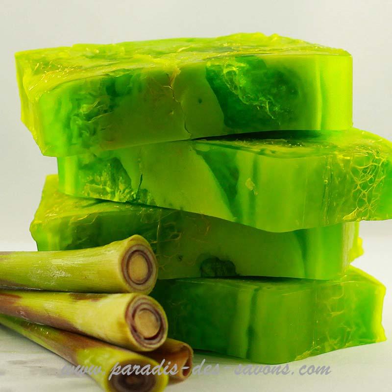 Savon lemongrass