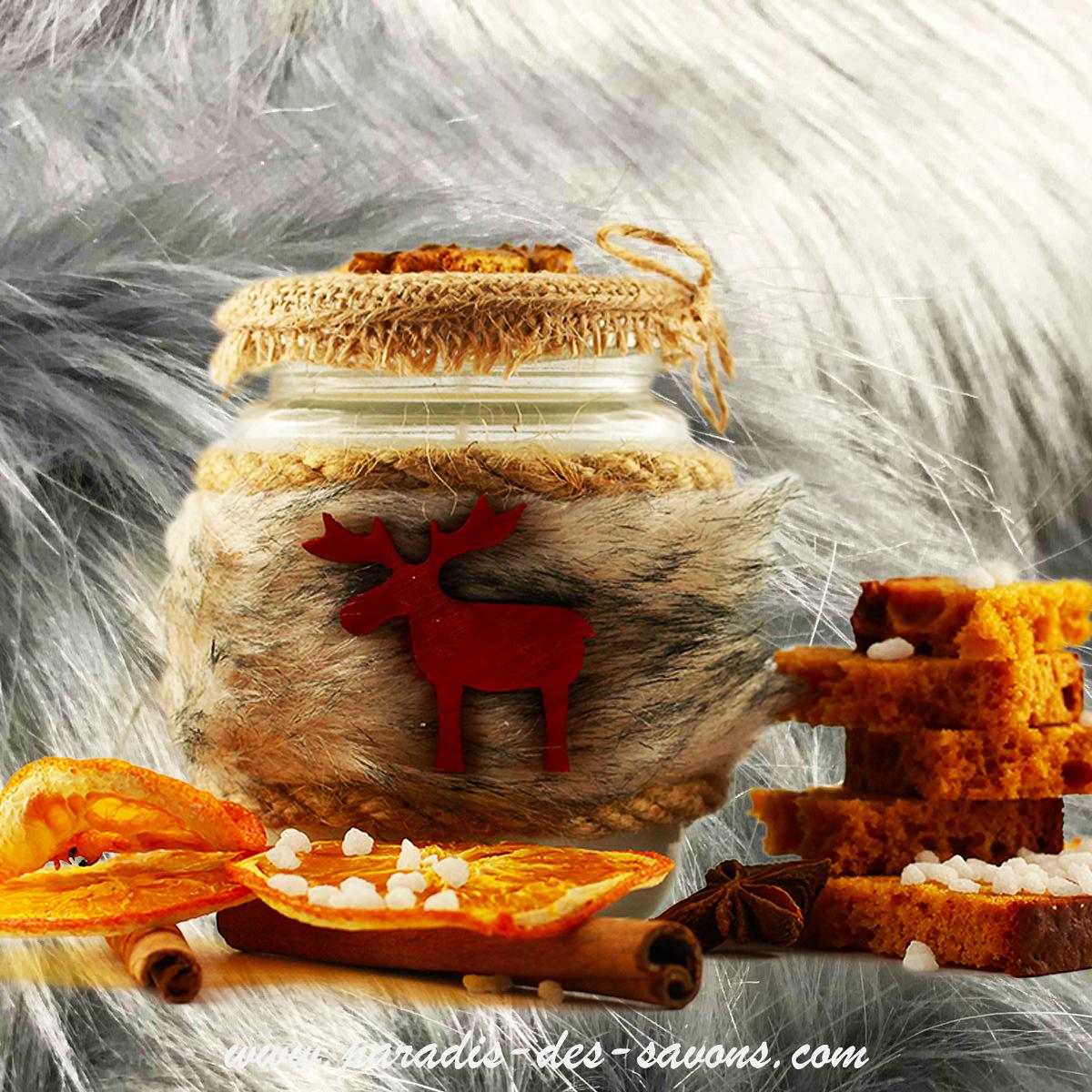 Bougie pain d'épices