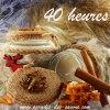 Bougie parfum pain d'épices