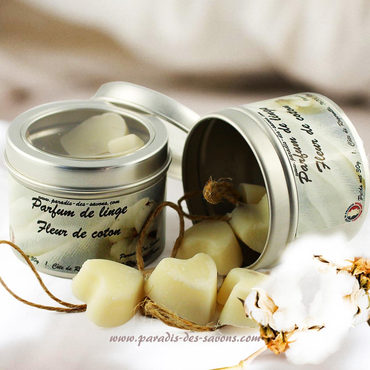 Parfum de linge Fleur de coton