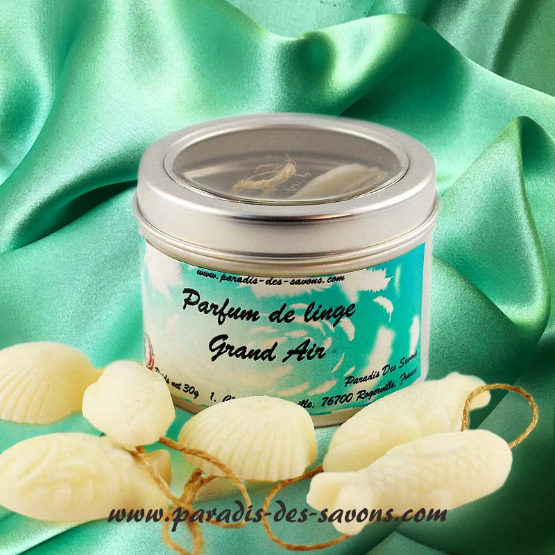 Parfumer linge senteur marin