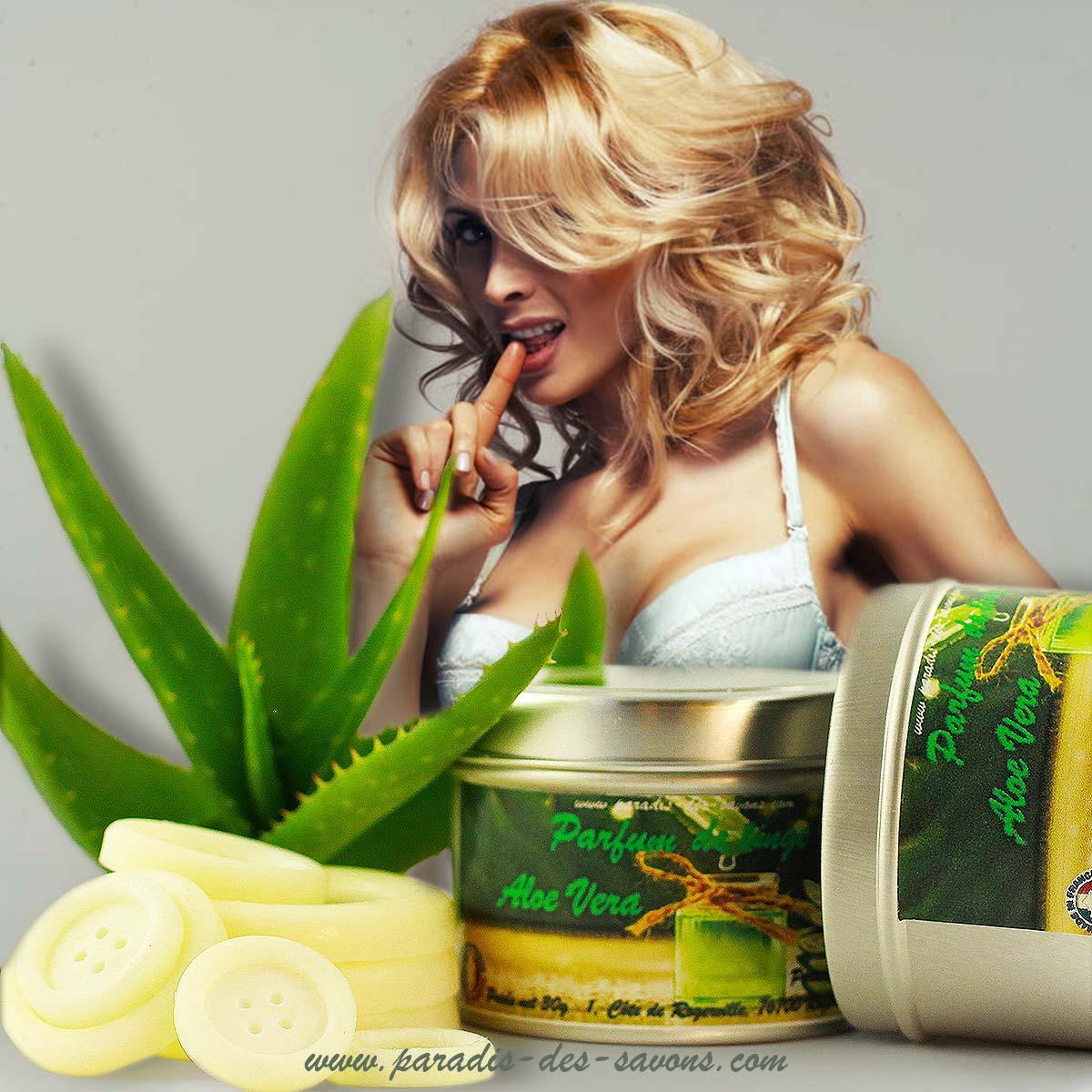 Parfum pour vêtements Aloe Vera