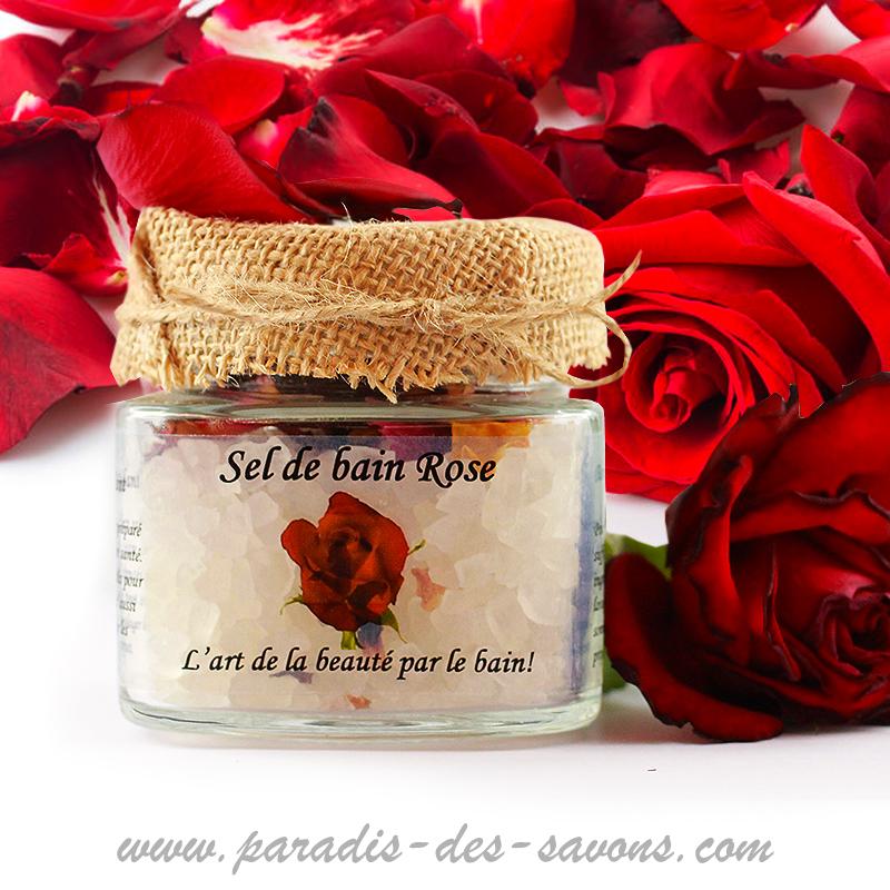 Bain antioxydant Rose