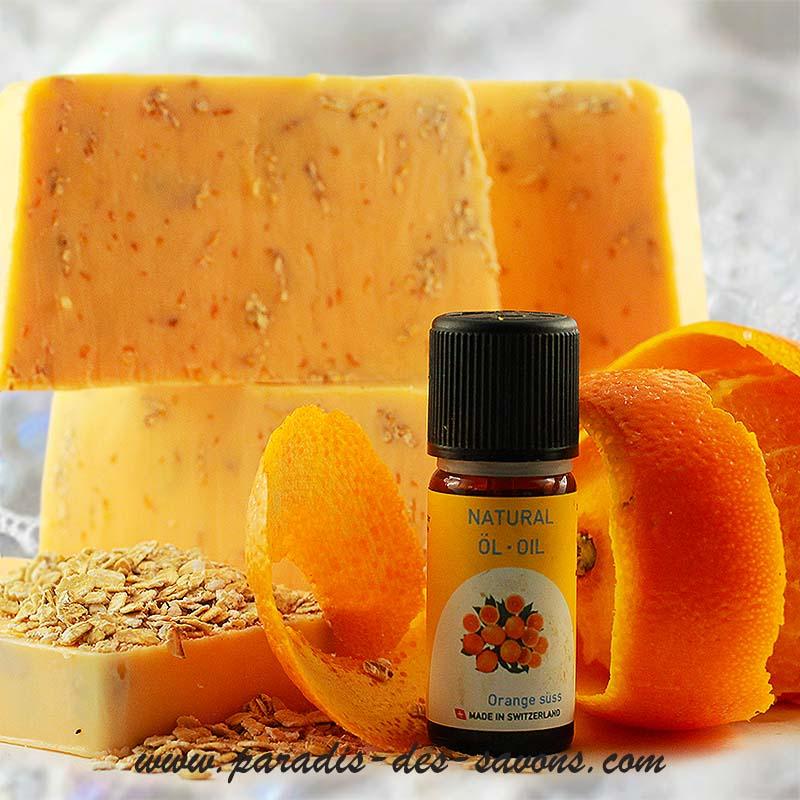 Savon orange naturel