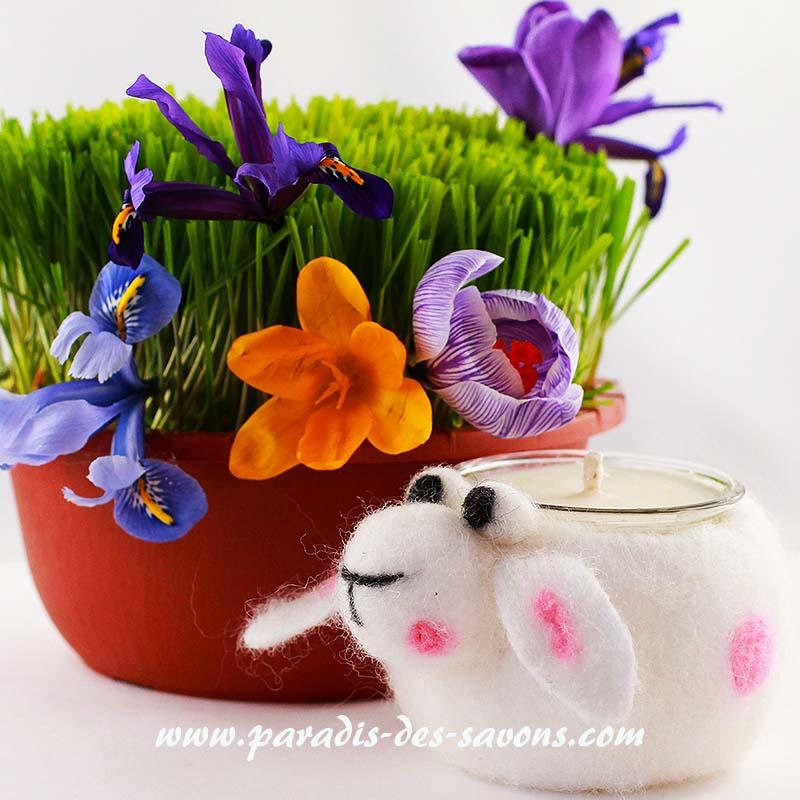 Bougie parfumée pour Pâques