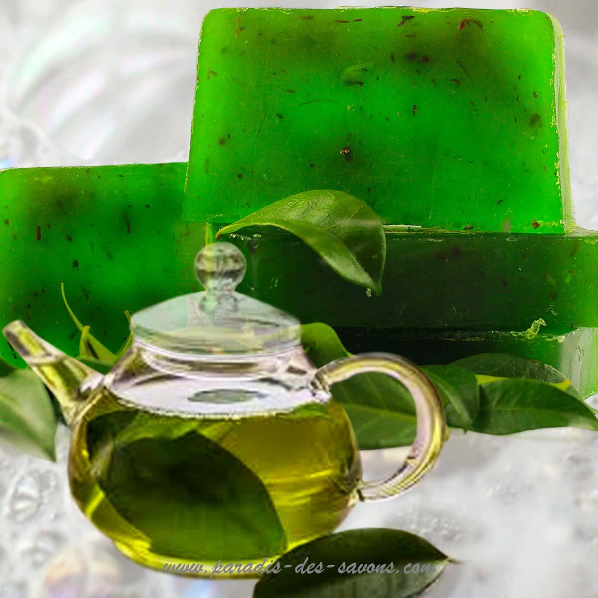 Savon au thé vert