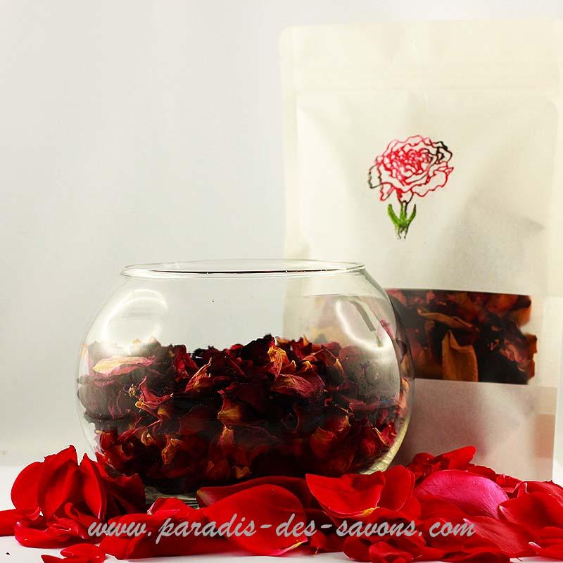 Bienfaits de la rose sur la peau