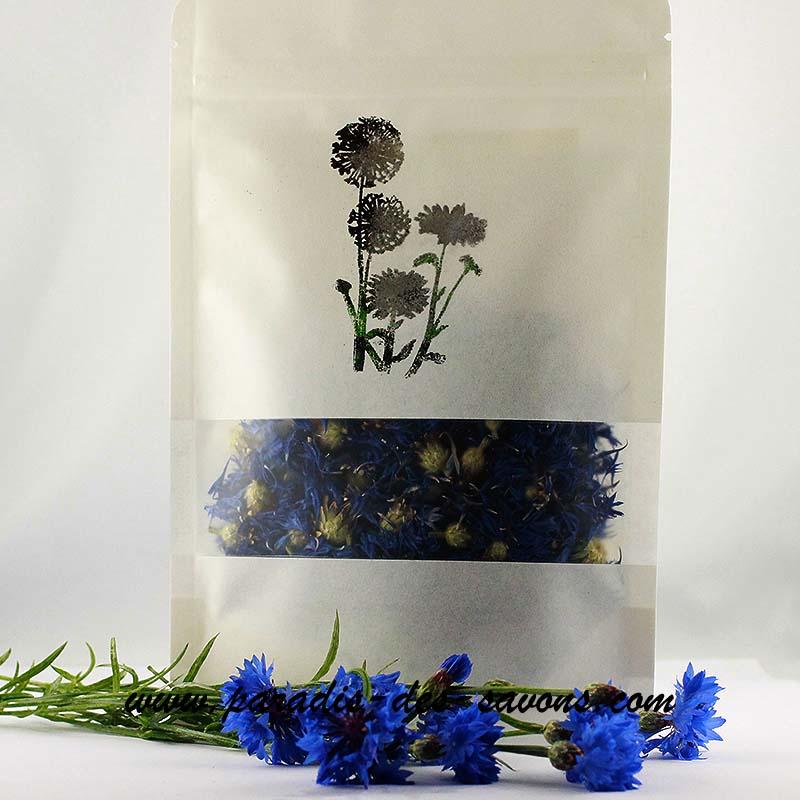 Fleurs de bleuet séchées