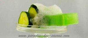 Savon hydratant concombre